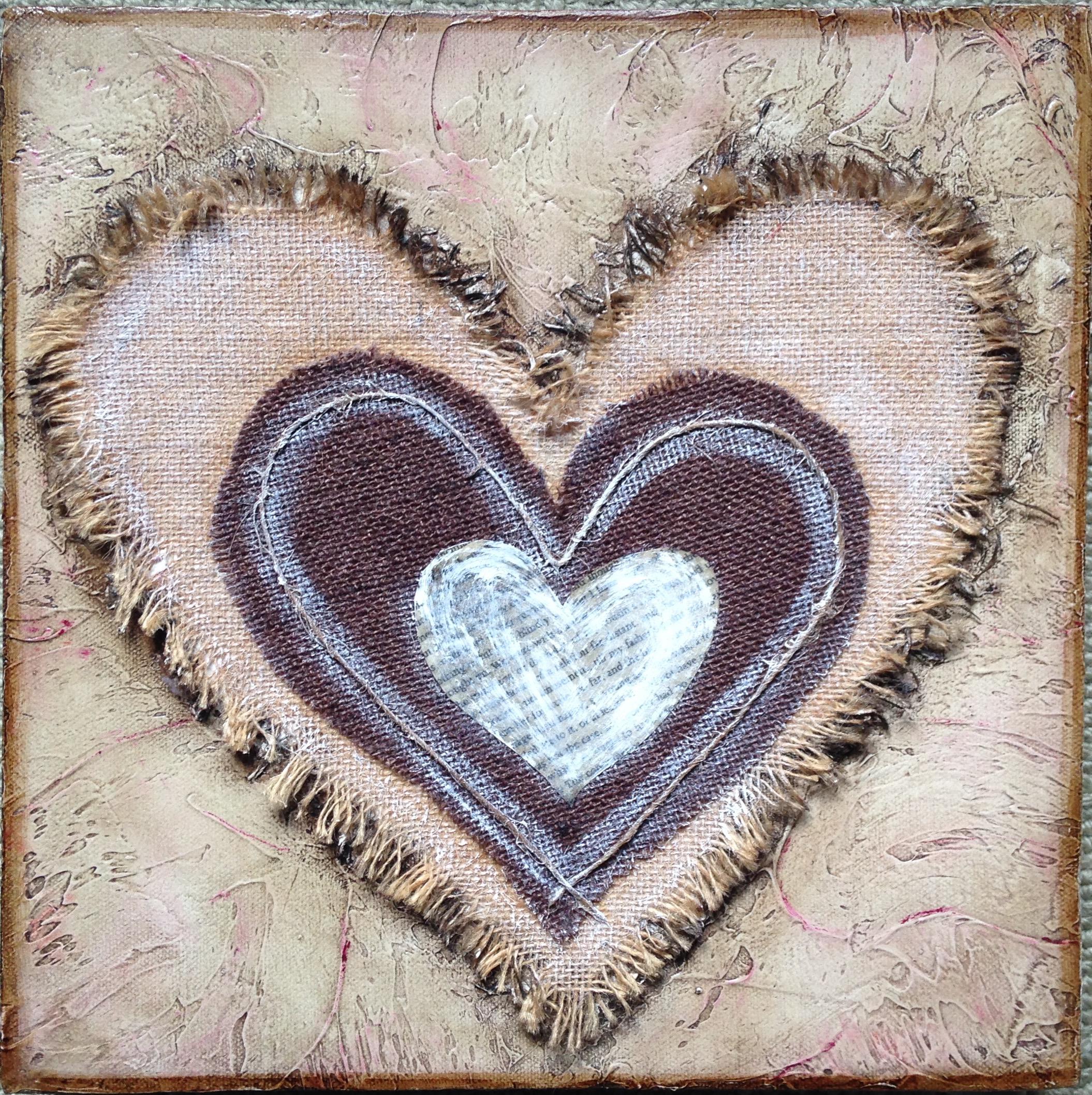 hessian heart