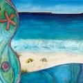Hyams Beach 137x91cm mixed media $450