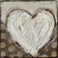 small lovable-heart 12.5x12.5cm $25