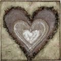 tactile-heart 30x30cm $55
